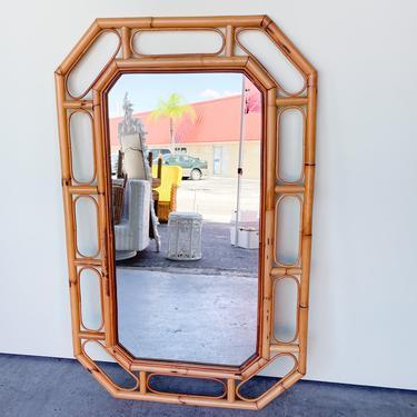 Island Style Rattan Mirror