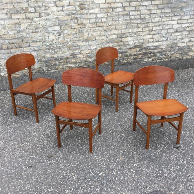 Borge Mogensen Model 122 Dining Chairs