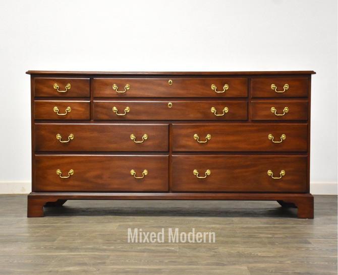Solid Mahogany Dresser by Henkel Harris by mixedmodern1