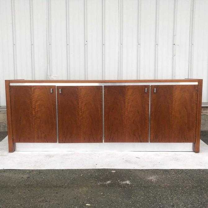 Mid-Century Sideboard attributed to Milo Baughman for Founders by secondhandstory
