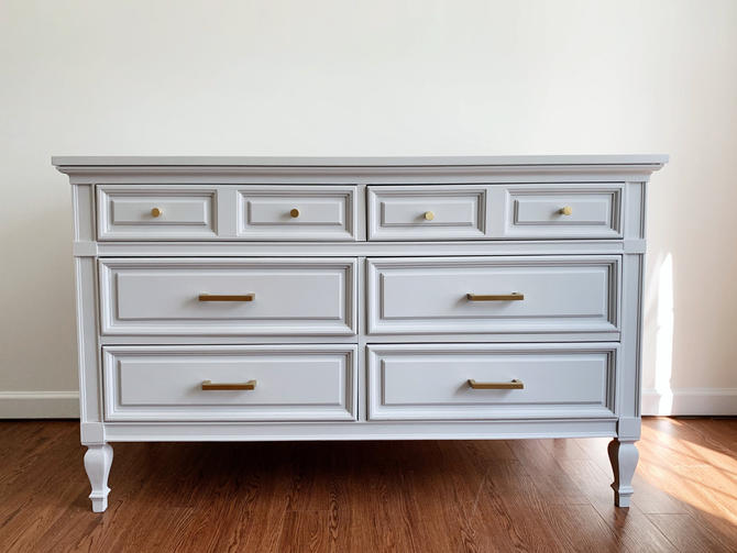 Light Gray Dresser by Dixie by madenewdesignct
