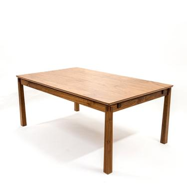 Mission Hardwood Extension Table by BenNewmanFurniture