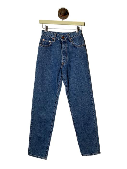 "(28"") Cedixsept Jeans Blue Denim Pants 022221."