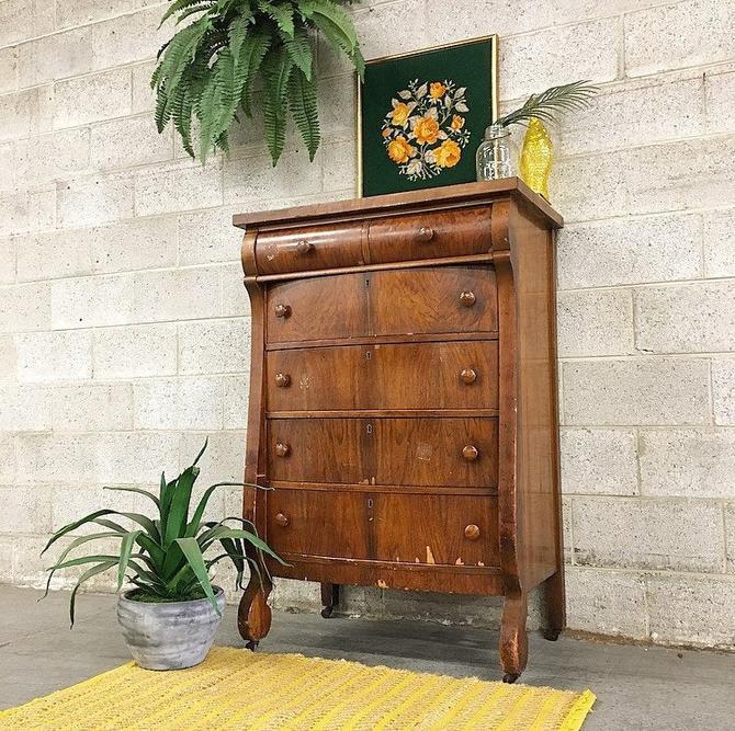 LOCAL PICKUP ONLY ------------- Antique Bureau by RetrospectVintage215