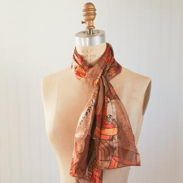 vintage picasso print scarf by foganddriftwood