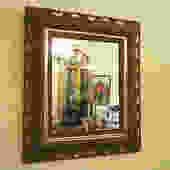 t27 ornate victorian mirror