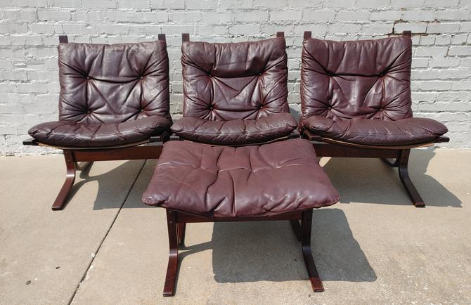 Mid Century Modern Ingmar Relling Siesta Chairs by VintageVaultTulsa