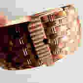 Etched Copper Belt Cuff by LegendaryBeast