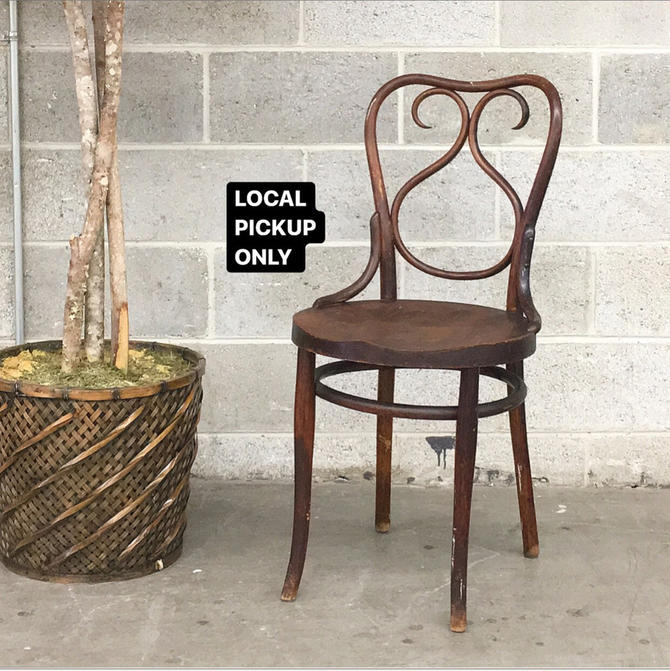 LOCAL PICKUP ONLY ———— Vintage Thonet Bentwood Chair by RetrospectVintage215