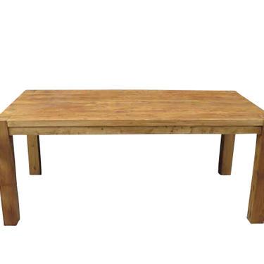 Custom Reclaimed Pine Parson Table