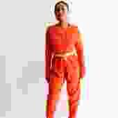 Tapemeasure Orange Size M V 20 Jumpsuit