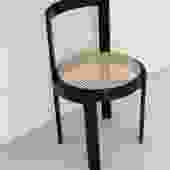 1970s Italian Cane Round Chair