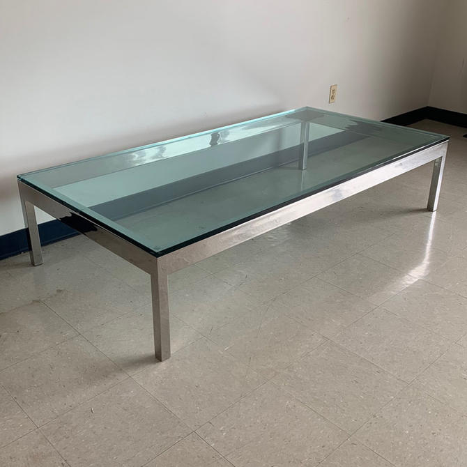 HA-FX Glass & Chrome Coffee Table