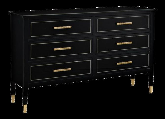 Caracole Signature Classical Modern the Little Black Dresser