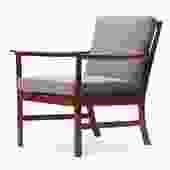 Cuban Mahogany Lounge Chair