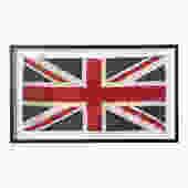 Framed Union Jack Flag