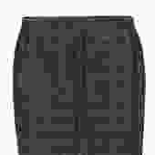Tory Burch - Navy Shimmer Tweed Pencil Skirt Sz 12
