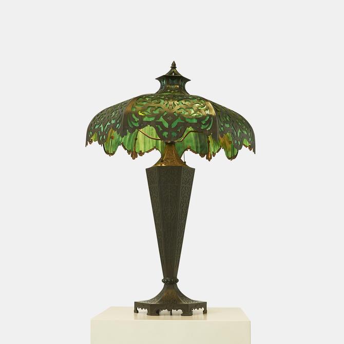 Bradley & Hubbard Attributed Table Lamp