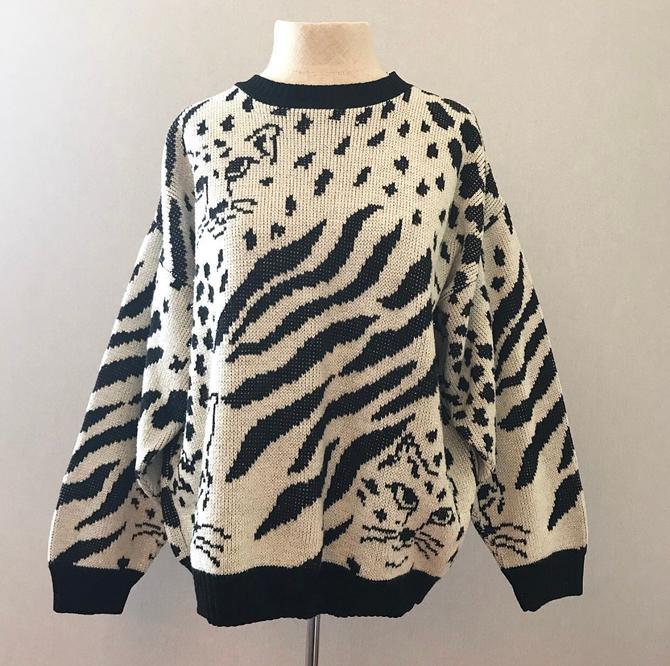 Vintage Wildcat 80s Sparkle Sweater by citybone