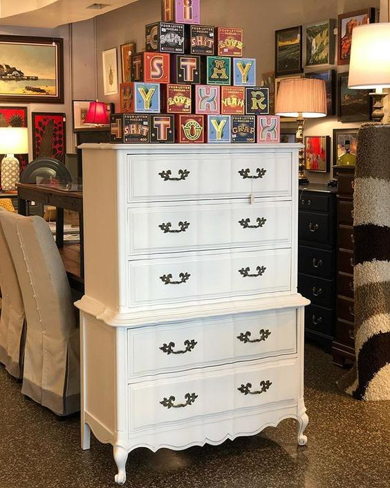 HUGE French Provjncial Chest of Drawers