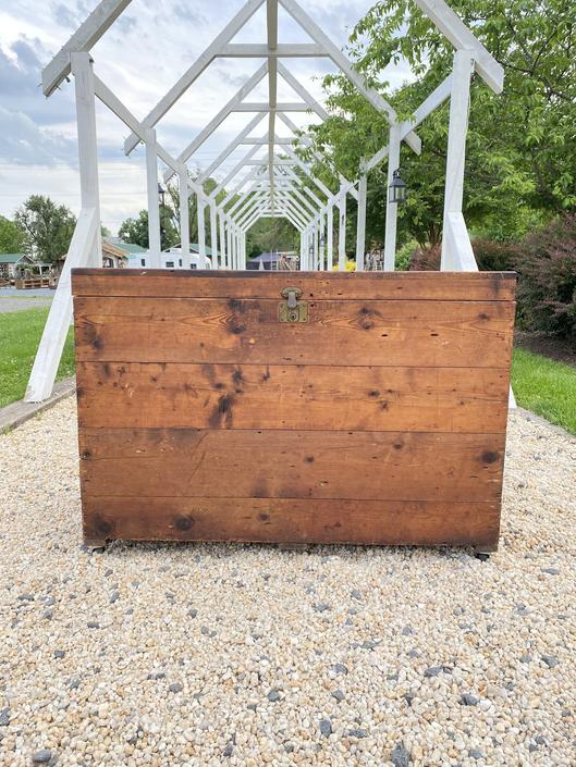 Large Industrial Crate