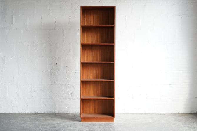 Tall Teak Bookcase