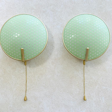 Pair of Mint Erco 50s Wall Lamp Sconces by dadacat