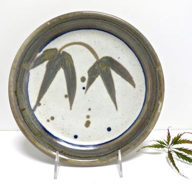 Vintage Marc Matsui Studio Pottery Plate, Pacific Northwest Contemporary Ceramic Art, Wabi Sabi Kitchen, Housewarming Gift, Japanese Pottery by HerVintageCrush