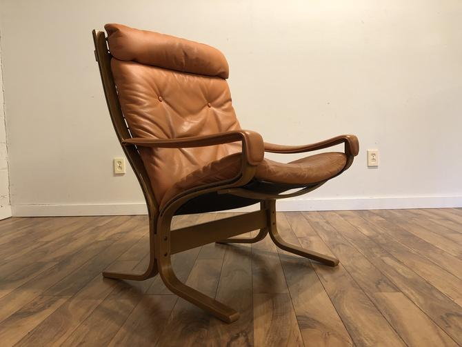 Westnofa High Back Leather Siesta Chair
