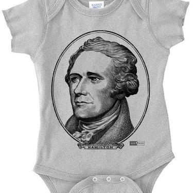 A Hamilton - Unisex Baby Onesie
