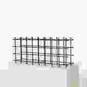 Modernist Iron Wine Rack