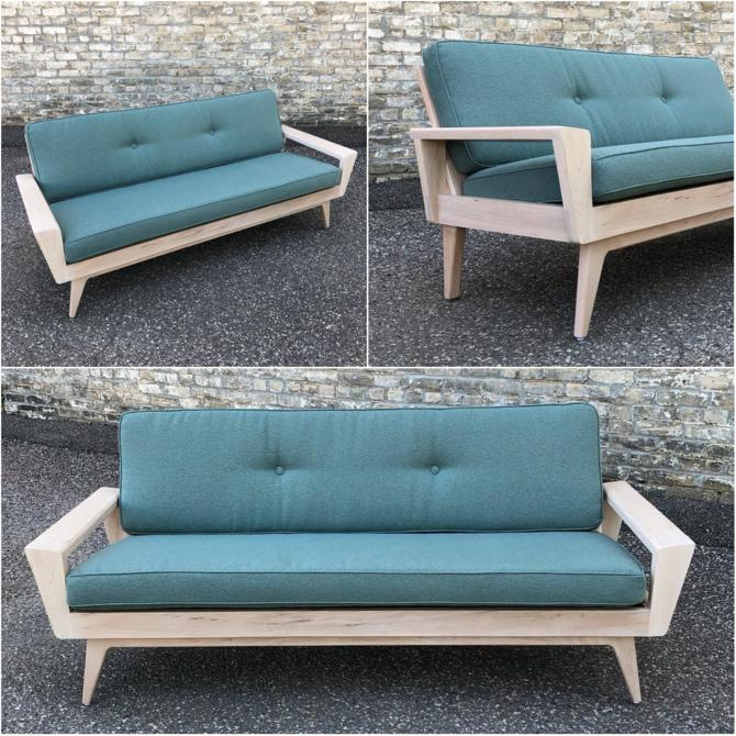 Retro Styled Sofa Handmade In Minnesota