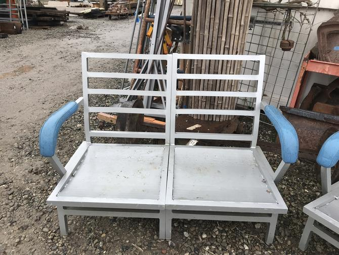 Metal outdoor 2 person chair