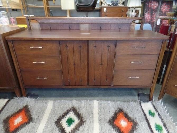Mid-Century Modern Long Dresser From The Saga Line By