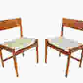 Arne Vodder Teak 6 Dining Chairs made by Sibast Denmark c 1960 by HearthsideHome