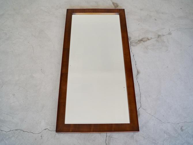 Amazing Mid Century Modern Walnut Beveled Mirror In Showroom Uwap Interior Chair Design Uwaporg