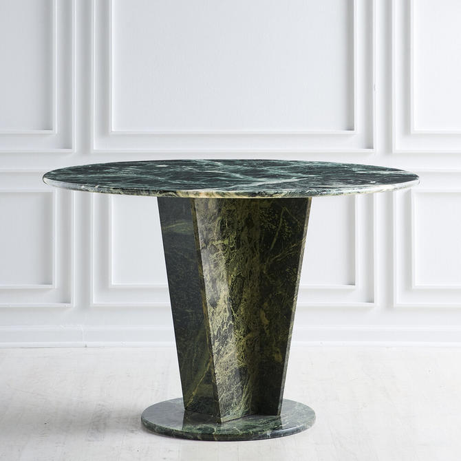 Green Guatemalan Marble Dining Table