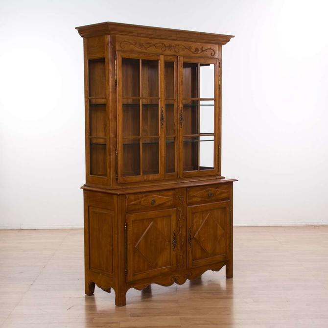 Ethan Allen Traditional Birch China Cabinet