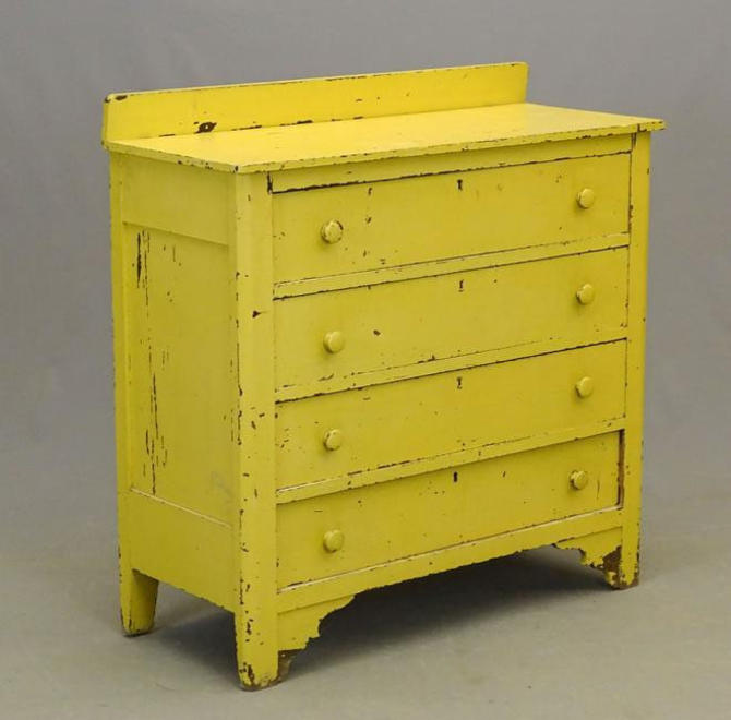 Antique Painted Dresser by coloniaantiques