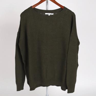 Carolyn Sweater - Army Organic