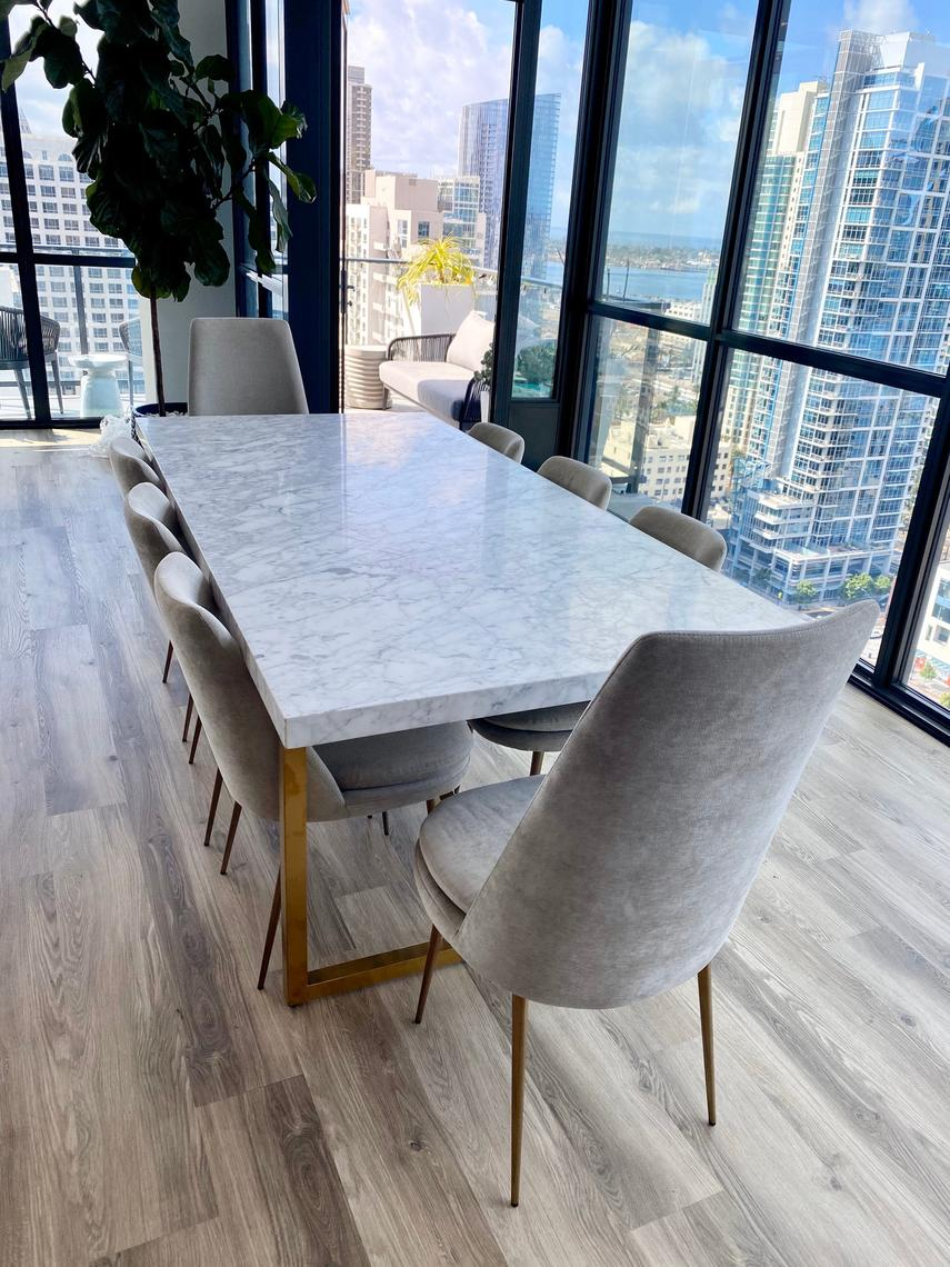 Torano Marble Rectangular Dining Table By Restoration Hardware By Bentwoodvintage From Bentwood Vintage Of South Philly Philadelphia Pa Attic