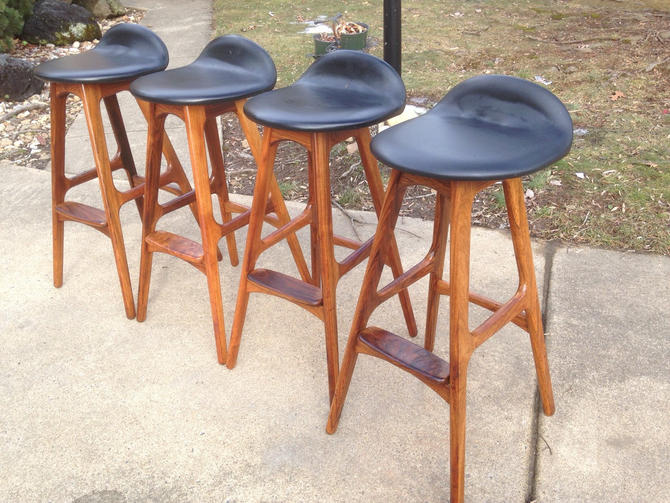 Brilliant Danish Modern Barstool By Erik Buch By Danishgarage From Alphanode Cool Chair Designs And Ideas Alphanodeonline
