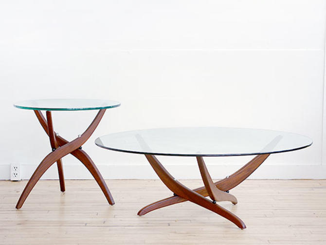 Forest Wilson Coffee and Side Table
