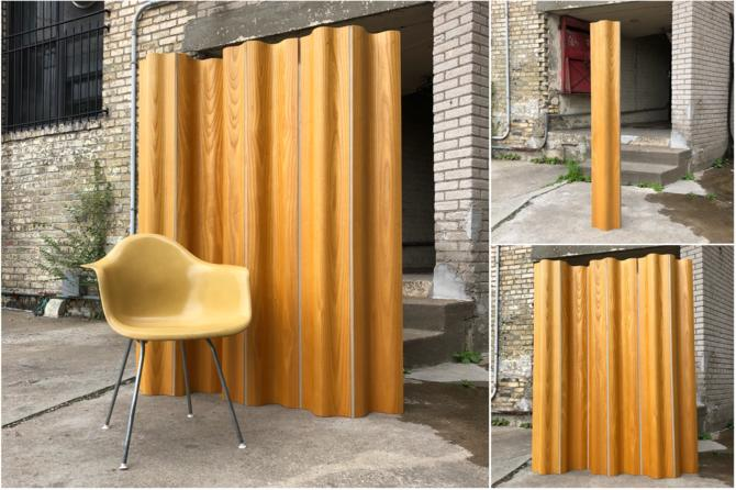 Eames Folding Wood Screen (fws)