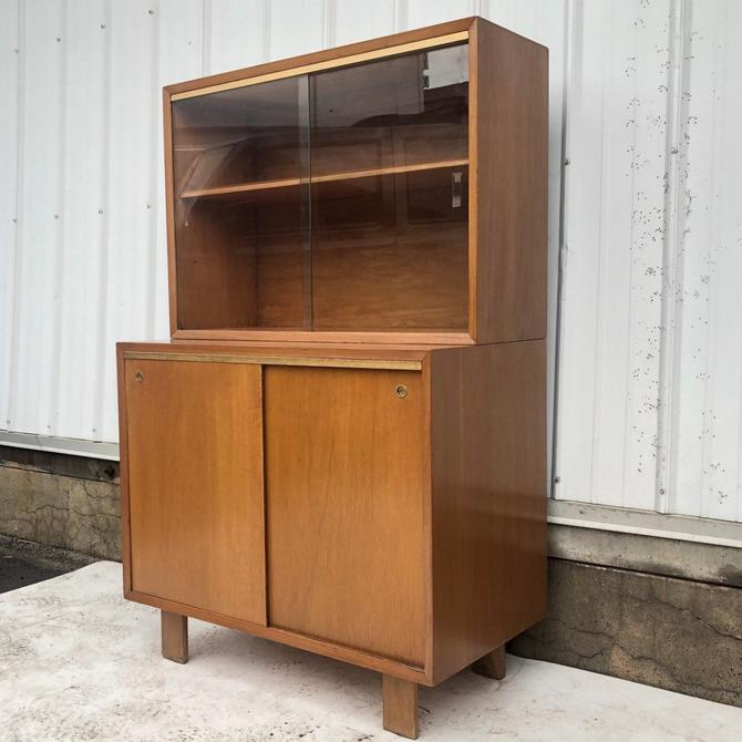 Mid-Century Modern Cabinet with Display Top by secondhandstory