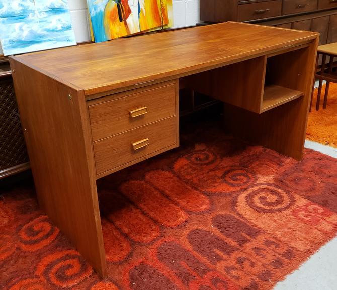 Danish Teak Tilt-Top Architect's Desk