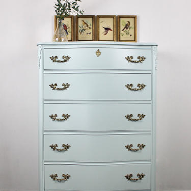 SOLD! Vintage Tall Dresser by ReNuvoDesign