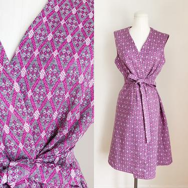 Vintage 1970s Long Line Vest Dress / M/L by MsTips