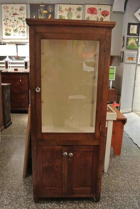 Oak cabinet. $795