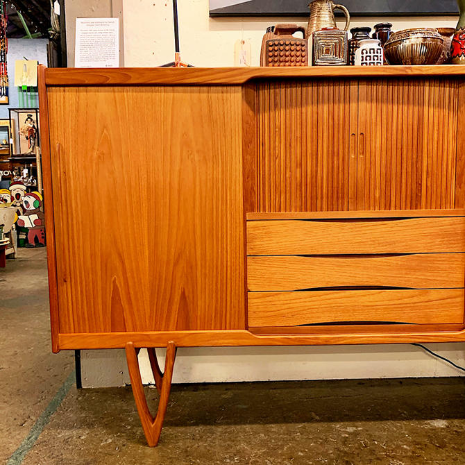 Beautiful Oak Sideboard By Kurt Ostervig